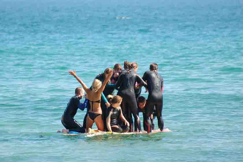 surf yoga holiday