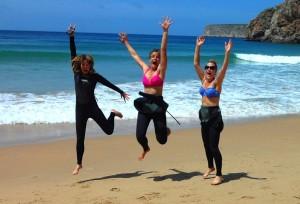 Yoga surf holidays Algarve